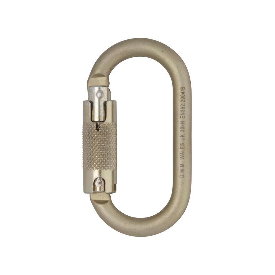 Steel Oval Locksafe Carabiner