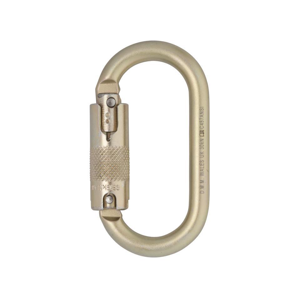 Steel Oval Locksafe Carabiner
