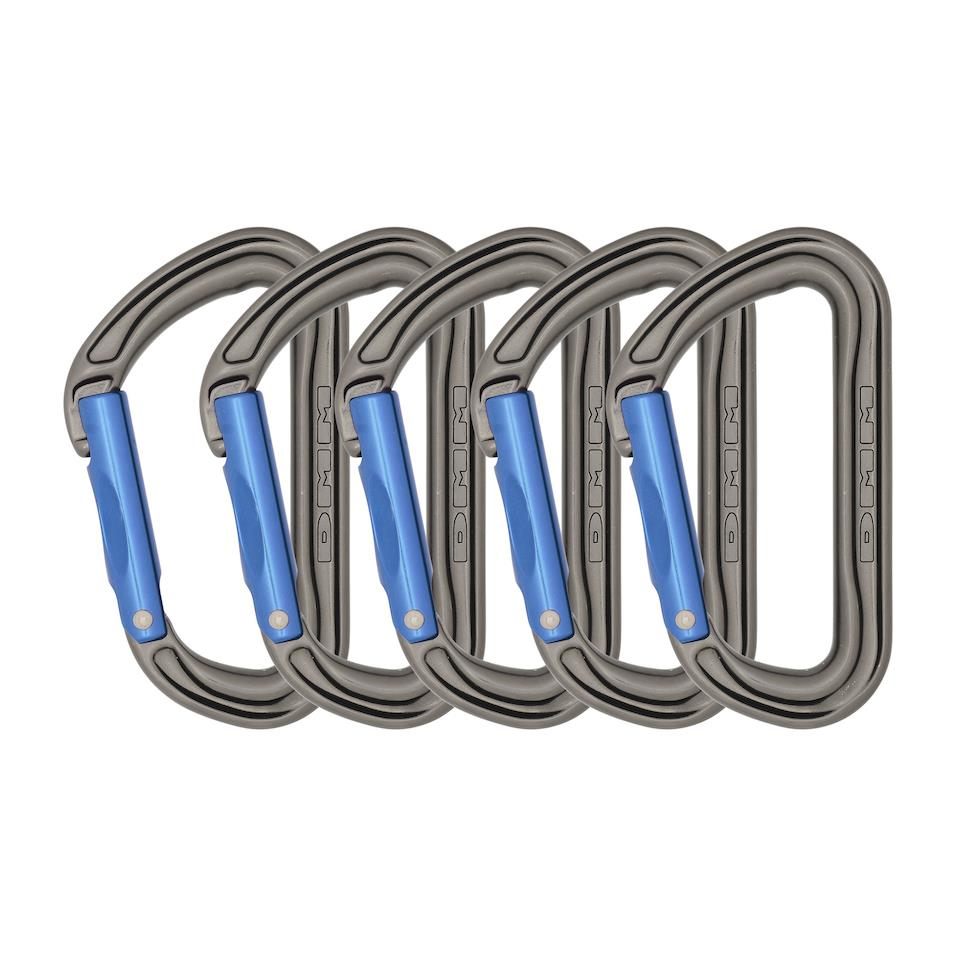 Shadow Straight Gate 5 Pack Titanium/Blue
