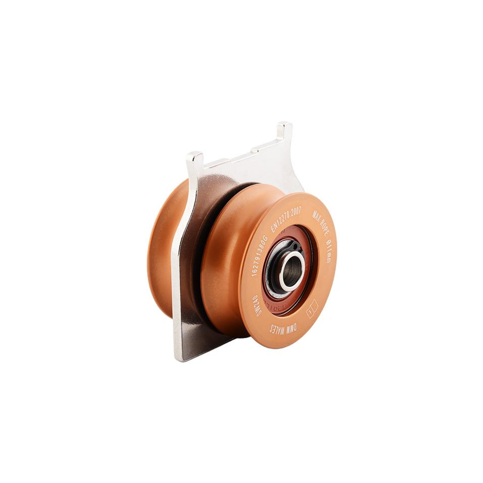 RPM twin sheave pulley cartridge