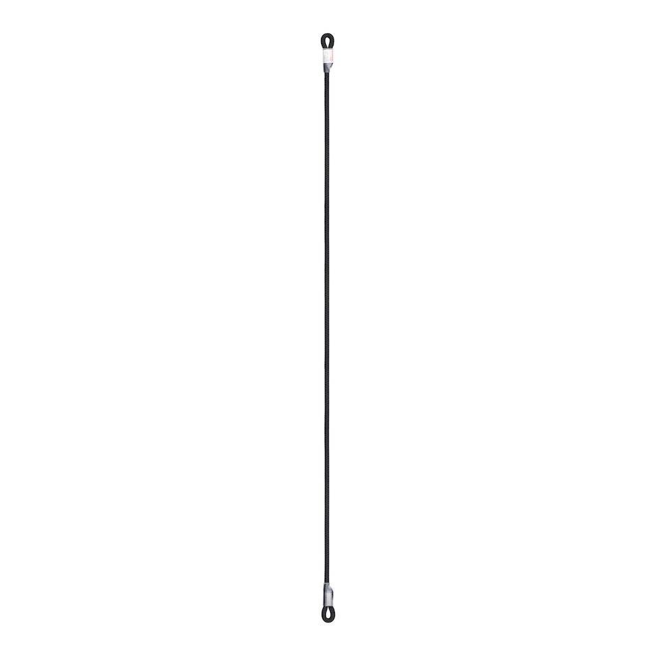 Low Stretch Rope Lanyard iD 140cm Black