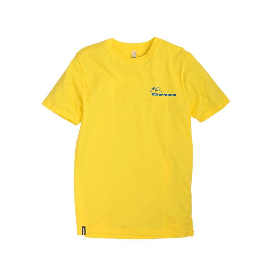 Mens DMM T-shirt Yellow