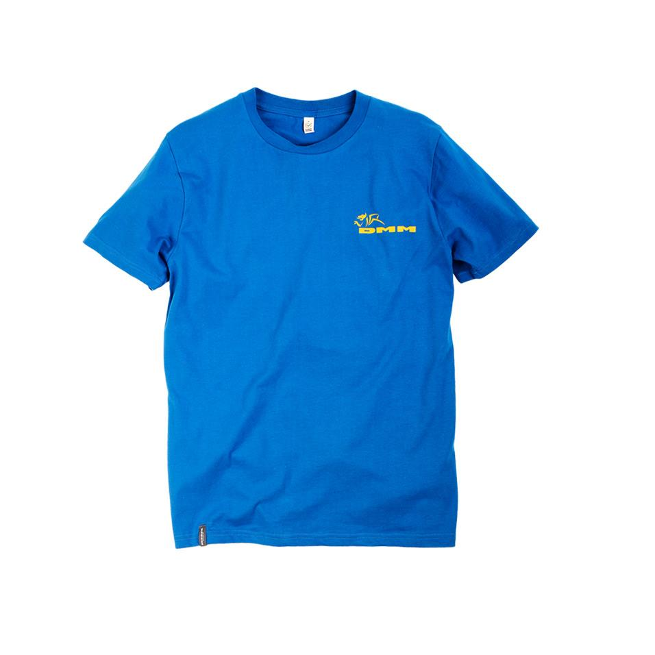 Mens DMM T-shirt Bright Blue
