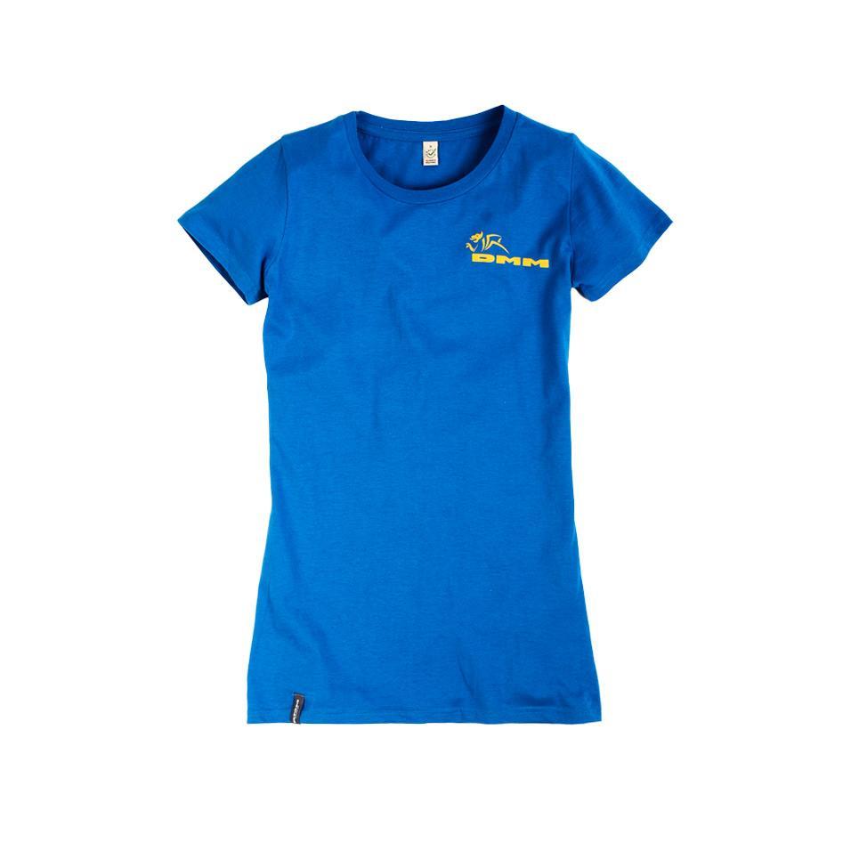 Womens DMM T-shirt - bright blue