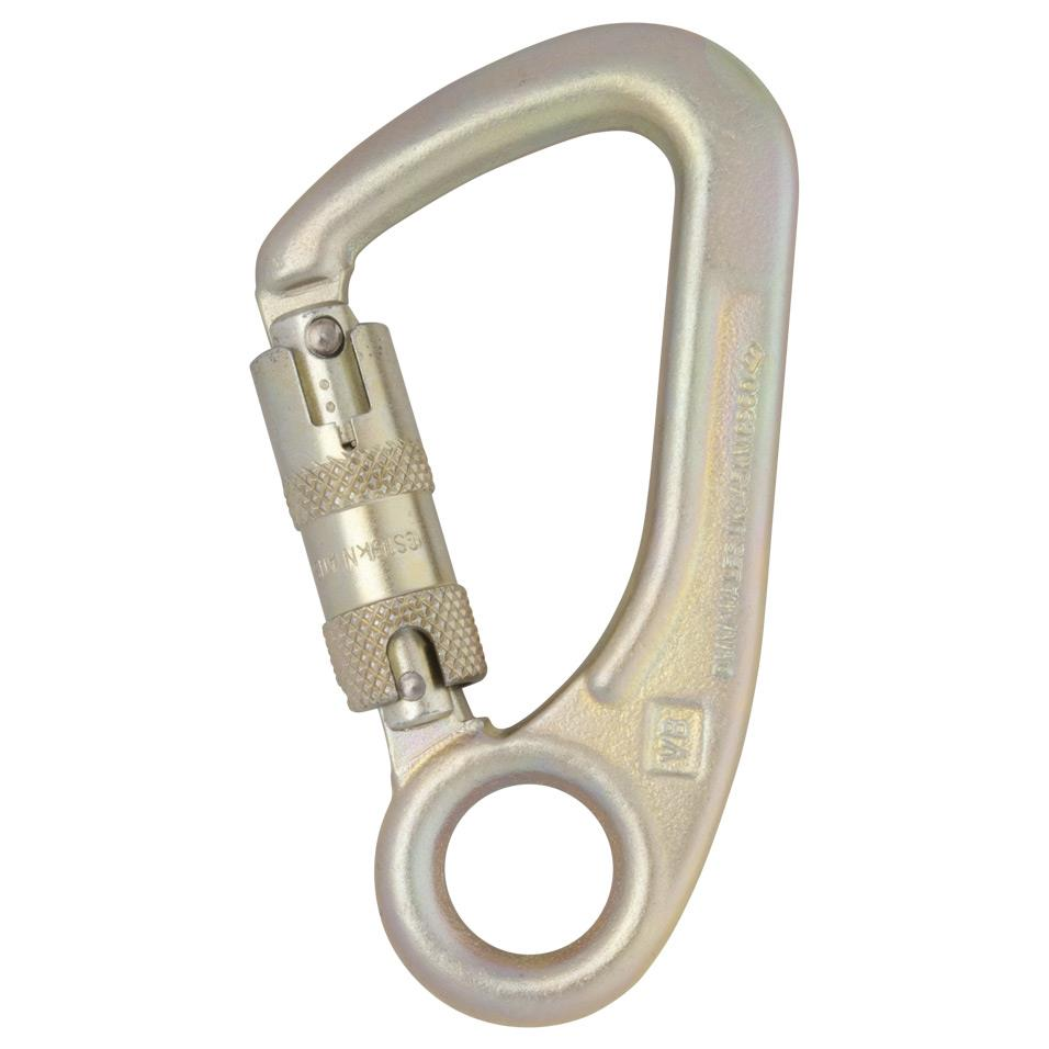 Steel Captive Eye Locksafe ANSI Carabiner