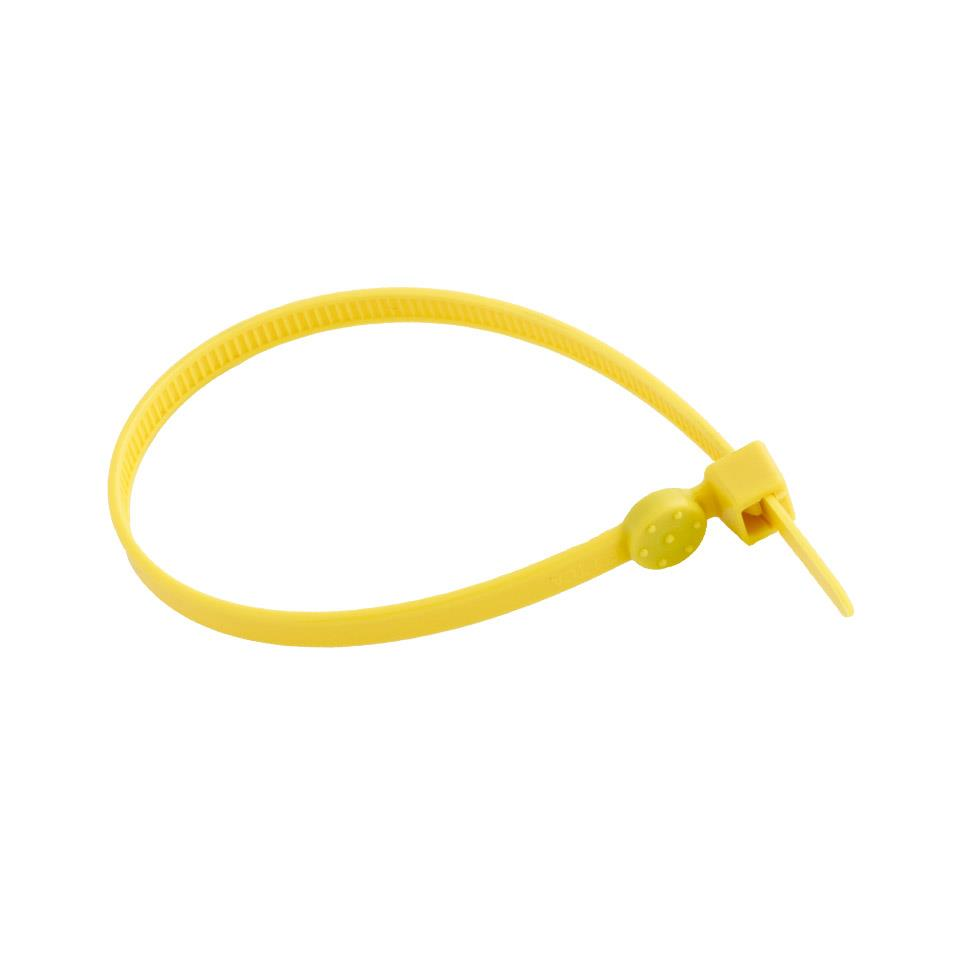 iD Zip Tie Yellow Pack of 10