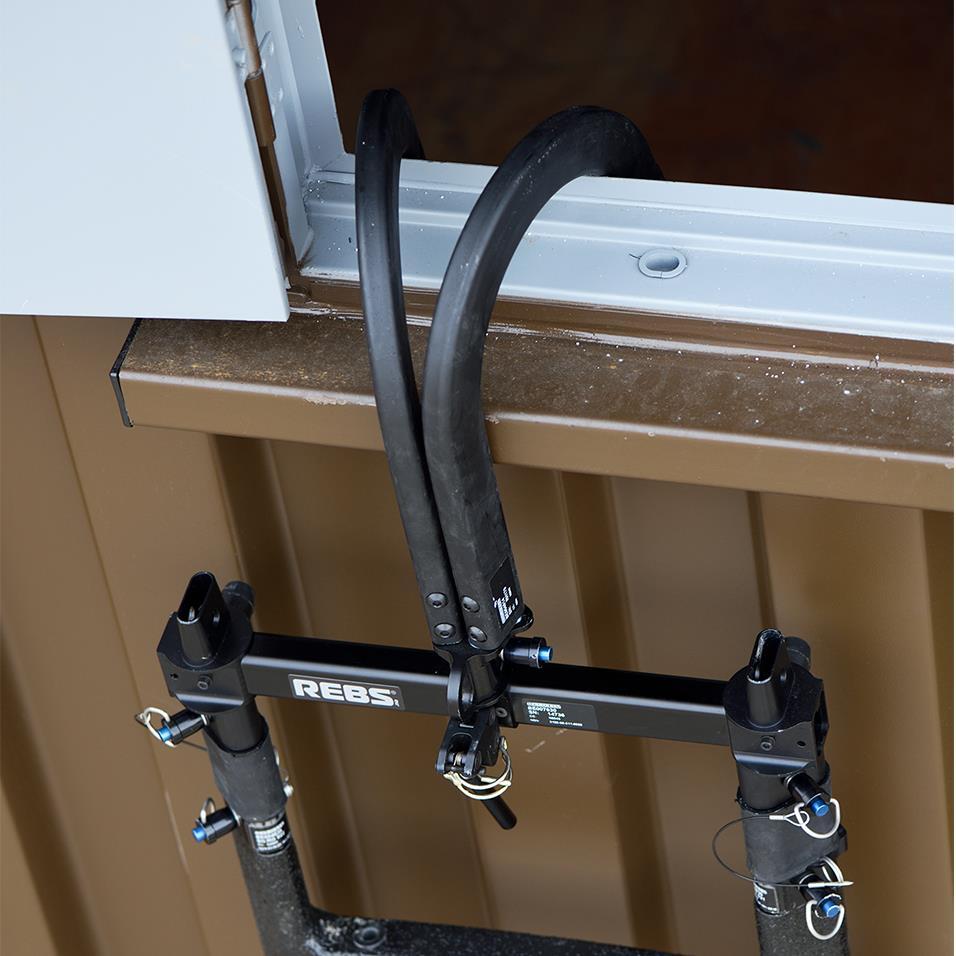REBS 6.8 Inch Aluminium Dual Hook