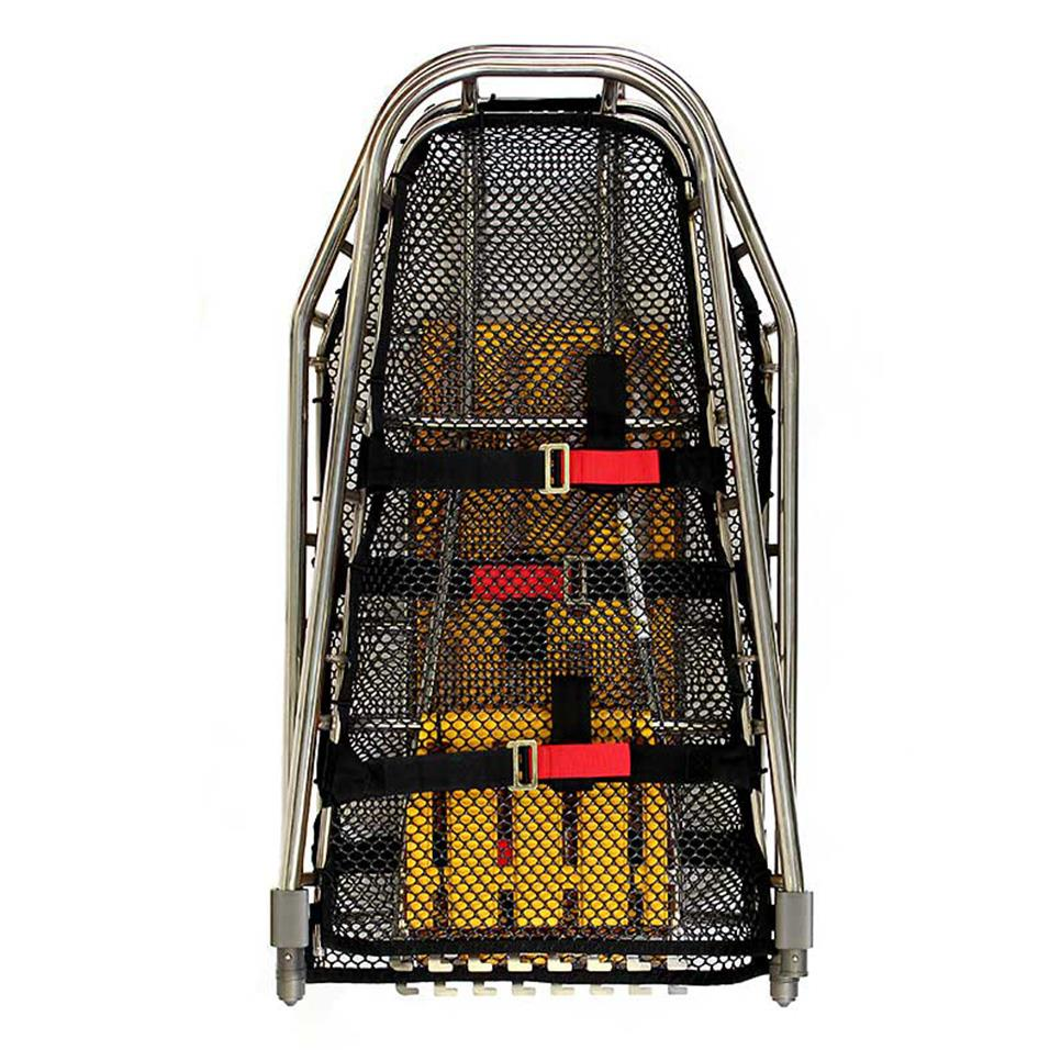 Titan Tapered Split Basket Stretcher Folded